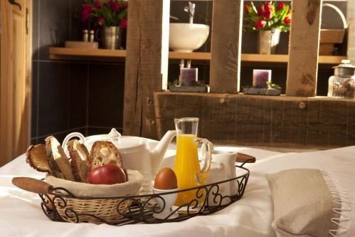 Отель Auberge de la Source - Завтрак